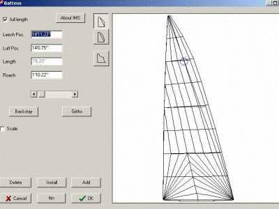Pro sail design